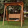 WOODEN LAWN SWINGS